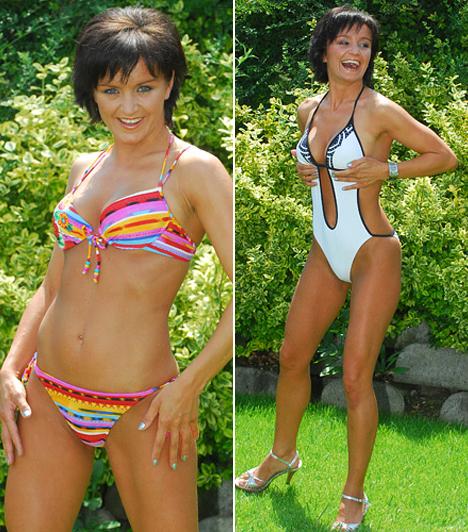Bikinis fotókSoha nem félt irigylésre méltó alakját megmutatni, még bikiniben sem.Kapcsolódó cikk:Szandi bikiniben »