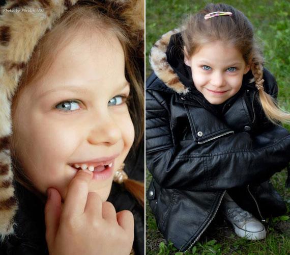 Pintácsi Viki múlt héten a saját lányairól is posztolt fotókat: a képen legkisebb, harmadik gyermeke, a hétéves Zolna látható.