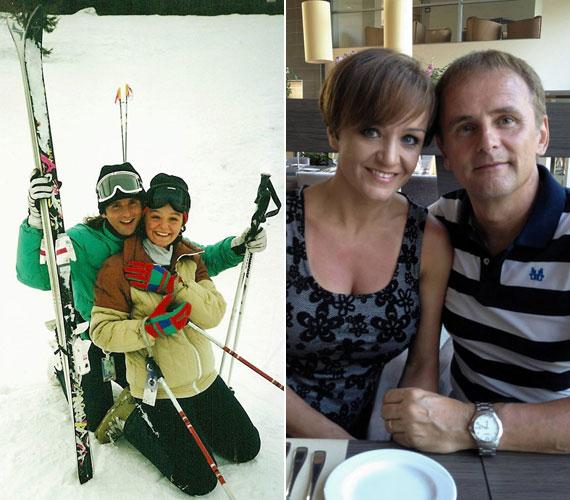 Szandi és férje, Bogdán Csaba 22 évvel ezelőtt ismerkedtek meg, és kereken 20 évvel ezelőtt január 29-én döntötték el, hogy összeköltöznek.