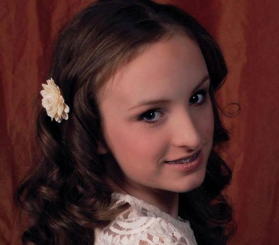 """""""Testvérem, Viki névnapi ajándékként készített 'kicsi' lányunkról, Blankáról egy fotósorozatot. Köszönjük Viki!"""" - írta október végén a képhez Szandi."""