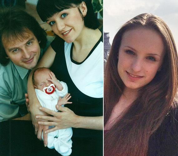 Szandi és Bogdán Csaba első gyermeke, Blanka 2000. március 11-én jött világra - gyönyörű tini lett belőle.