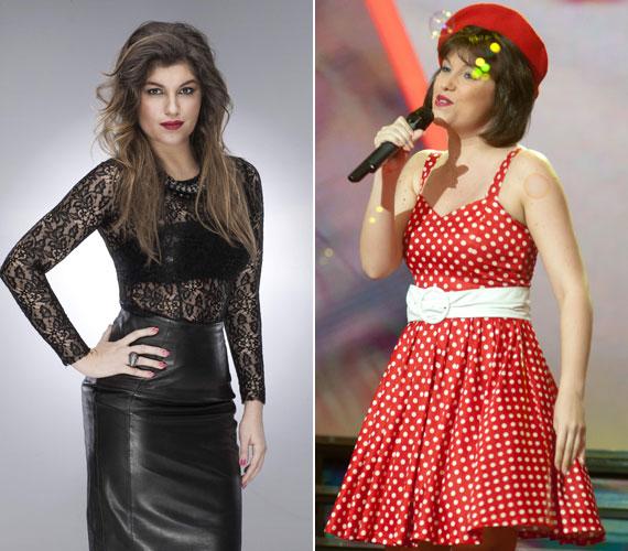 Szandi mintha kétszer is színpadra lépett volna: a Tinédzser l' amour című slágerét Nika, vagyis Veres Mónika adta elő.