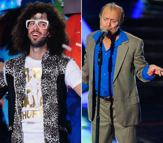 Ugyancsak a ma esti döntőbe énekelte magát Varga Viktor mint az amerikai énekes és DJ Redfoo, illetve Heinz Gábor mint Joe Cocker.