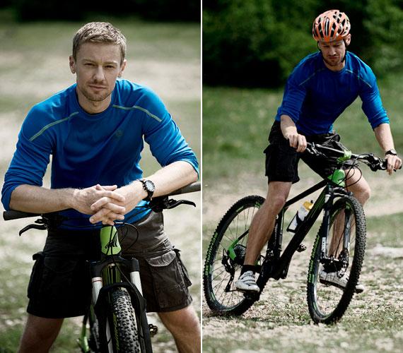 - A bicikli volt mindig a szenvedélyem, de amikor bejött a színészet, abbahagytam a komoly edzést - mesélte a Men's Health magazinnak.