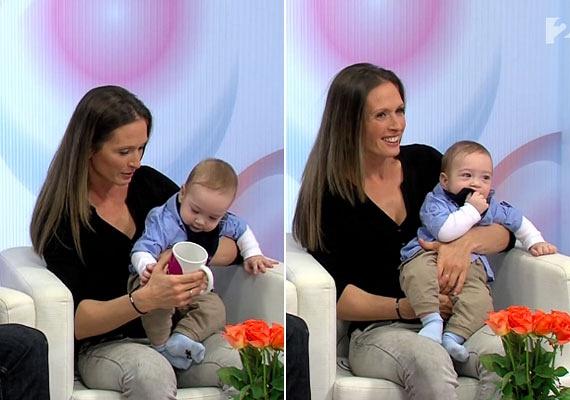 Szebeni István és felesége, Anita nem titkolják, évekig küzdöttek a babáért. Patrik két-három év próbálkozás után érkezett meg. Jó baba, szeret a szüleivel lenni, és sokat mosolyog.