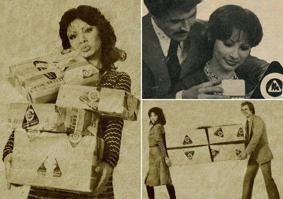 Szedres Mariann hosszú ideig a Centrum Áruházak reklámarca is volt. Nem csoda, hogy ha megjelent valahol, azonnal felismerték.