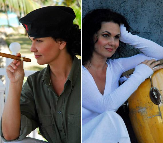 Négy évvel ezelőtt Kubában időzött, ide vágyott vissza idén februárban is, amikor a képeket posztolta.