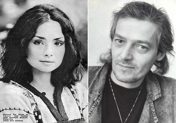 """Az Abigél után még több férfi hódolója akadt, mint korábban, de senkinek nem volt esélye, mert Szerencsi Éva ekkor már a későbbi férje, Szakácsi Sándor párja volt. (A színész 2007-ben, 54 évesen hunyt el.) 1969-ben a Pinceszínházban ismerkedtek meg, a főiskolára is együtt jártak. 1976-ban összeházasodtak, de egy év után szét is költöztek.""""Szerintem azért váltunk mi szét, mert nagyon korán lekötöttük egymást""""- mesélte egy interjúban a színésznő."""
