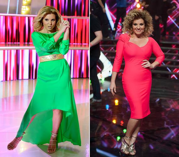 Liptai Claudia régóta a TV2 arca, számos műsorban megcsodálhattuk már gyönyörű ruháit - idén tavasszal A Nagy Duett adásaiban varázsolta el a nézőket szebbnél szebb kollekciókban, mint ez a neonzöld ruha. Ősszel a Sztárban Sztár zsűritagjaként visszafogottabb volt az öltözködése, de a döntőn azért egy élénkpink ruhában keltett feltűnést a 41 éves műsorvezető-színésznő.