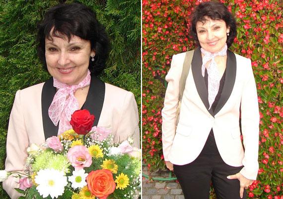 A 46 éves énekesnő továbbra is visszafogottan öltözködik, de ma már fellépésein többnyire nőies kosztümökben áll a közönség elé.