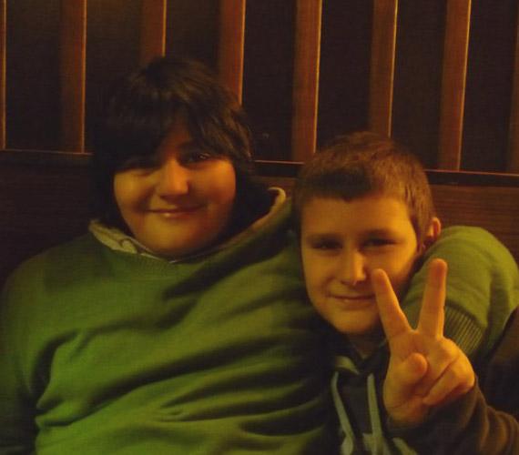 A testvérek is jóban vannak: Mirkó Milán már 13 éves, míg Boskó Iván 11.