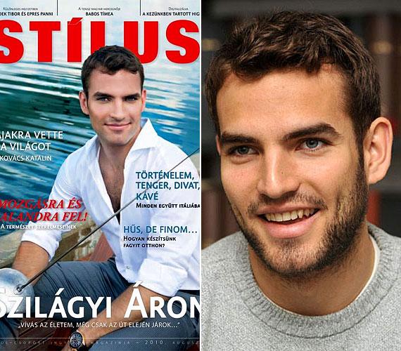 Egy csapásra sztár lett: a Stílus magazin címoldaláról is ő mosolyog.