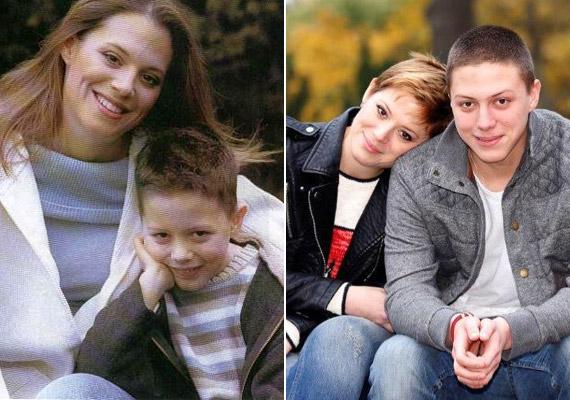 Marci fia már 18 éves, és nagyon hasonlít az édesanyjára.