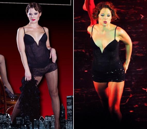 Szinetár Dóra Roxi Hart szerepében már a plakáton is kihívóan pózol, a színpadon pedig felforr körülötte a levegő. A premiert 2012. október 19-én tartották.