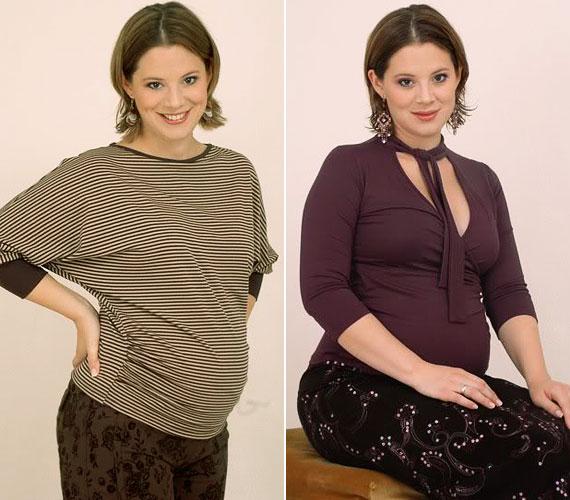 Dóra gyakorlott fogyózó, első terhessége után 20 kilótól szabadult meg.