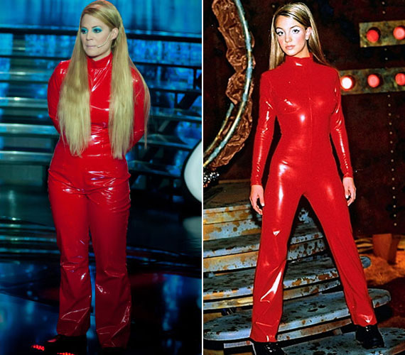 Zsűri és a rajongók dicsérték a mozgását és a merész szerelést, de szerintük nem igazán sikerült azt a hatást keltenie, mintha a pop hercegnője lenne.