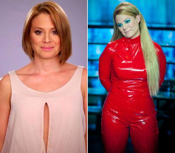 Külsőre így sikerült átalakulnia Szinetár Dórának Britney Spears énekesnővé.
