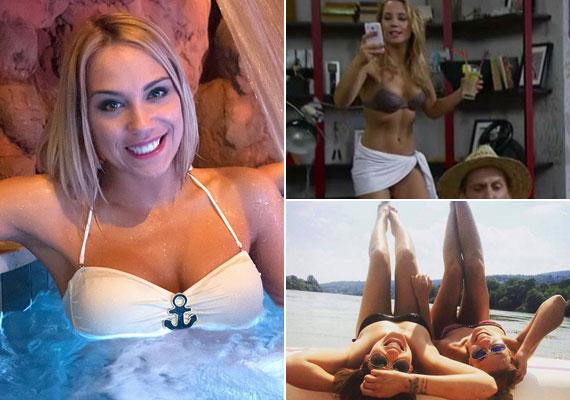 A 30 éves Kiss Ramóna civilben és a Barátok közt szexi Zsófijaként is megmutatta irigylésre méltó bikinis alakját. A színésznő és kedvese, a pókersztár Tóth Richárd 2013 decemberében szakítottak, azóta nem láttunk férfit Kiss Ramóna oldalán.