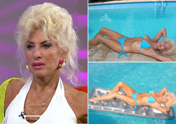 A 74 éves Medveczky Ilona augusztusban nagy port kavart, amikor a Story magazin címlapján bikiniben pózolt. Azt mondta, a nőknek szerette volna üzenni, hogy 40, 50, 60 és 70 év után is van élet, ne hanyagolják el magukat. Szemmel láthatóan ő sem teszi, egyetlen vágya, hogy párra leljen.