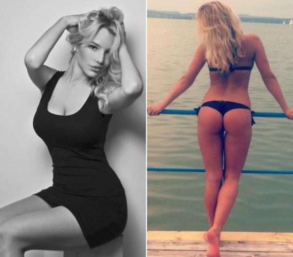 Szoboszlai Dóra plus size modellnek számít, pedig fenekét és alakját bármelyik nő megirigyelhetné.