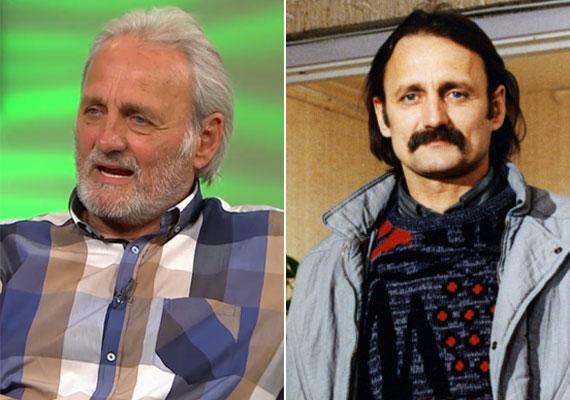 A 69 éves Trokán Péter a FEM3 Café egyik nyári adásában, illetve mint Alma férje, az erdészmérnök János.