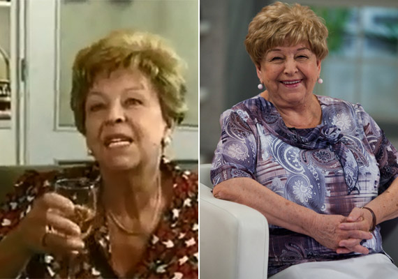 Idén szeptemberben Pásztor Erzsi is a 79. születésnapját ünnepelte. Ő alakította Szöllősy Janka nénit, Jutka sokszor rosszindulatú, mindenbe beleszóló, zsörtölődő, idős nagynénjét, aki mindig a legrosszabbkor toppant be.
