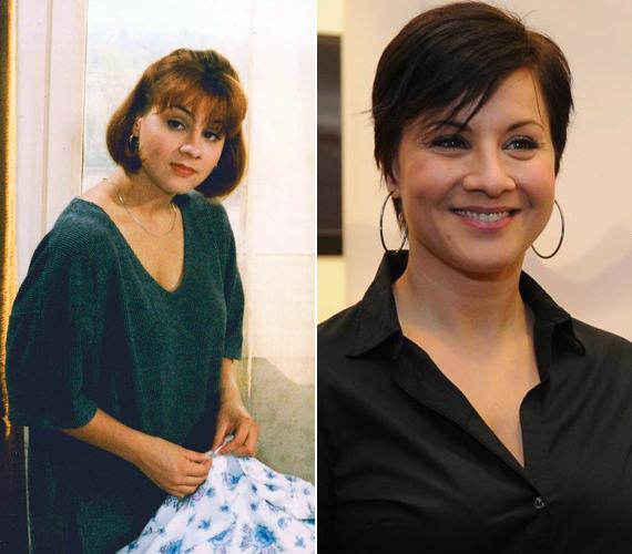 Julcsi, azaz Ábel Anita a nézők szeme láttára cseperedett fel, a Szomszédok kezdetekor ugyanis csak 13 éves volt. A most 37 esztendős színésznő, aki rengeteget változott az évek során, 2008 augusztusában adott életet kislányának, Fekete Anna Lucának.