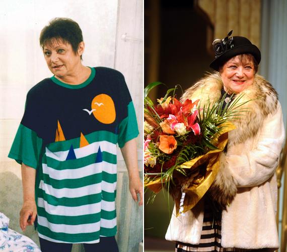 Csűrös Karola a telenovella tyúkanyó módjára gondoskodó Etusaként vált ismertté. A színésznő tavaly nemcsak a 76. születésnapját ünnepelhette, hanem a Madách Színháznál töltött 50. esztendejét is.