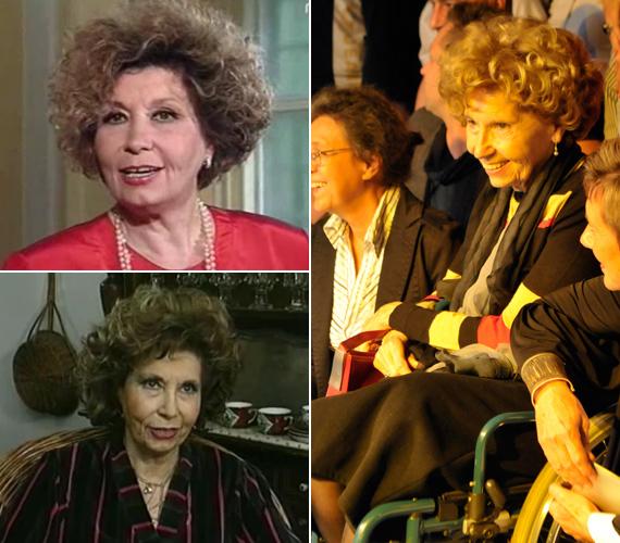 Schubert Éva a sorozat mindig kíváncsi Lillácskáját alakította. A 82 éves színésznőnek két évvel ezelőtt csípőprotézist ültettek be, azóta pedig járni is alig tud, többnyire kerekesszékben tölti mindennapjait.