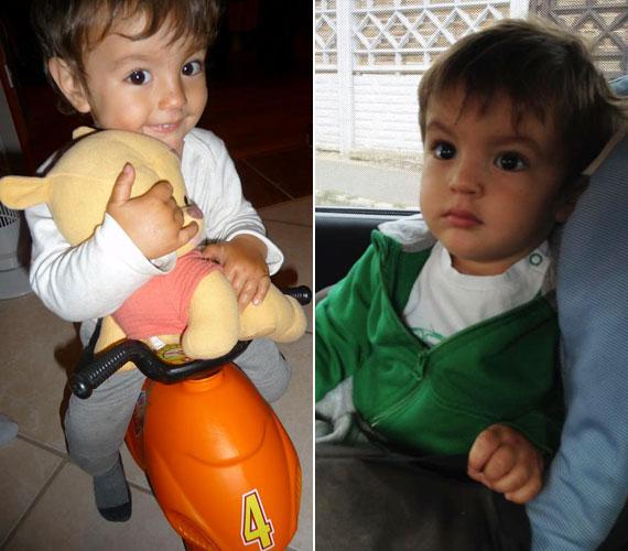 Kisfia, Andriska 2012. február 7-én látta meg a napvilágot. Őt egy évig nem engedte lefotózni. Édesanyjának szerencséje van vele, mert nem féltékeny a kistestvérre, segíti húgát altatni, pelenkázni és fürdetni.