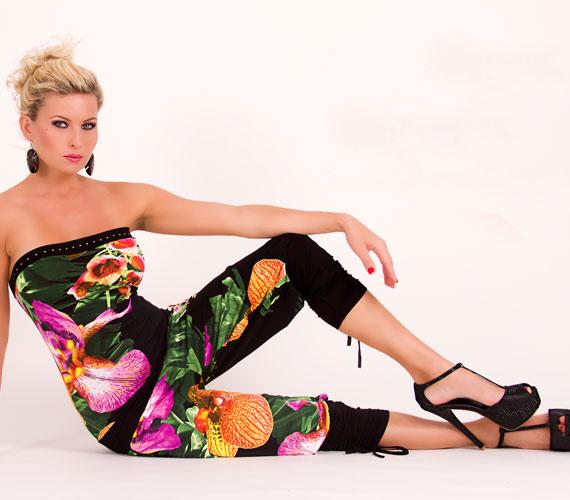 Az overall az a ruhadarab, amely valamilyen formában minden évben visszatér: a Masca Fashion nyári kollekciójában roppant trendi, a dzsungelt idéző, nagy, virágos mintákkal.