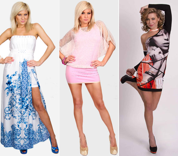 A nyári kollekcióban megtaláljuk az alap fekete és fehér ruhadarabokat - esetenként színes mintákkal kiegészítve. Hódít a rózsaszín és a türkiz is.