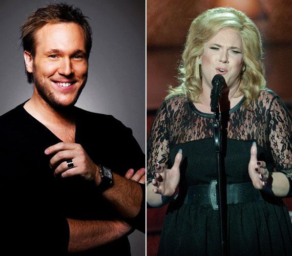 Feke Pál musicalszínész is nemet váltott: ő Adele, brit énekesnő Someone Like You című számát adta elő.