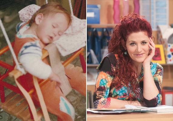 Madár Vera gyönyörű kis álomszuszék volt, csak a haja nem volt ilyen vörös.