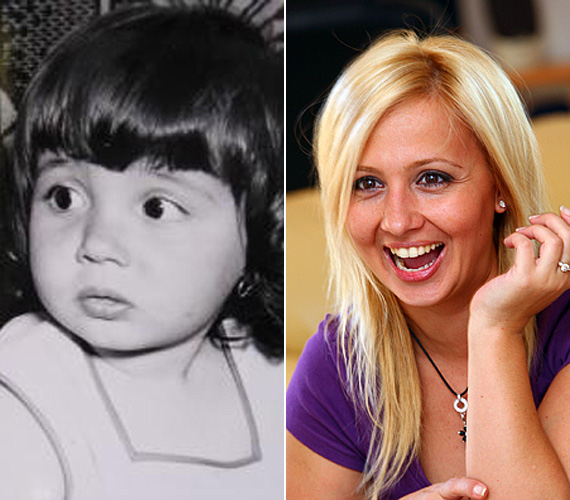 Gombos Edina napjaink egyik legnépszerűbb műsorvezetője, aki a gyerekkori fotó tanúsága szerint kislányként is legalább olyan elbűvölő volt, mint napjainkban a tévék képernyőjén vagy a magazinok címlapján.