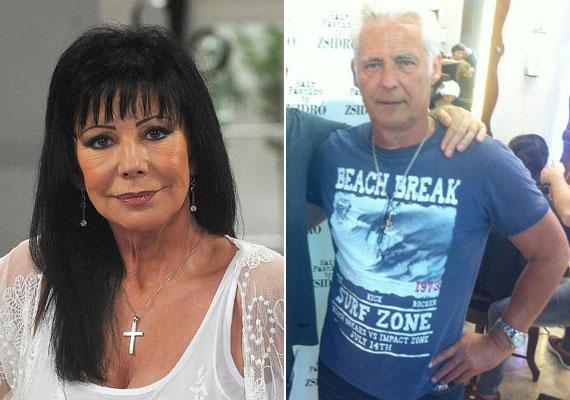 Szűcs Judith ritkán jelenik meg a nyilvánosság előtt bátyjával, Szűcs Antal Gáborral. A 65 éves zenész - akit a magyar rocktörténet egyik legnagyobb vándoraként is emlegetnek - évtizedeket is letagadhat korából, csakúgy, mint a gyönyörű énekesnő.