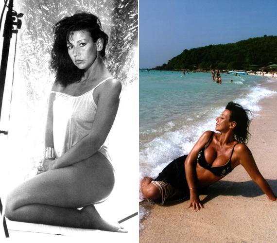 Bikinis fotóival fiatalon és érett nőként is nagy feltűnést keltett.