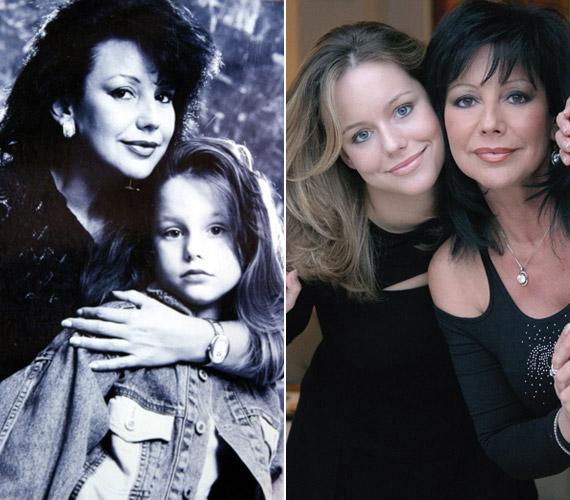 Szűcs Judith soha nem rejtegette 1985-ös születésű lányát, akinek édesapja az énekesnő volt férje, Fülöp Csaba.