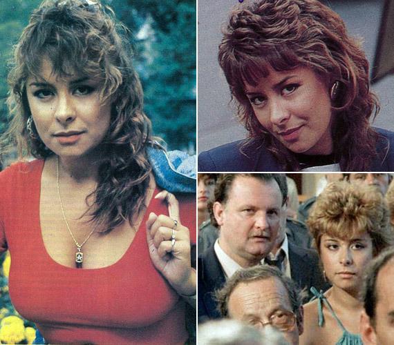 A nyolcvanas években mindenkit lenyűgözött szépségével. 1984-ben szerepelt a Linda című nagysikerű sorozatban - mellette Balázs Péter látható.