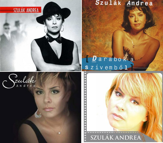 Az évek során nyolc szólólemeze jelent meg: az első a Nem harap a néni volt 1992-ben, ezt követte az Egy darabot a szívemből, az IQ, a Szerelemlemez, a Cinema, a Boldogság, gyere haza, a Musical is meg nem is és a 2010-es Boldog karácsonyt!