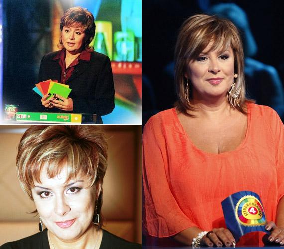 A tévében számos műsor köthető a nevéhez, így például ő vezette az Activity című vetélkedőt, és a Szulák Andrea Show háziasszonya volt. Rövid kihagyás után 2012-ben tért vissza a tévézéshez, amikor megkapta a Story4-en futó Szerencsekerék műsorvezetői posztját. A képek alapján mintha csak fiatalodott volna az évek során.