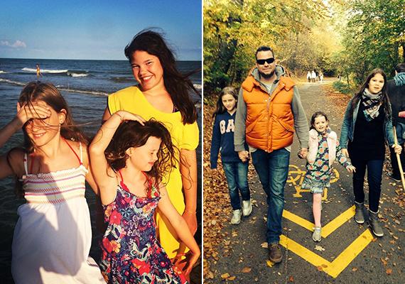 A 40 éves Szurdi Tamás boldog családapa, feleségével három csodaszép kislányt nevelnek, a fotókról lerí, hogy az apukát kenyérre lehet kenni.