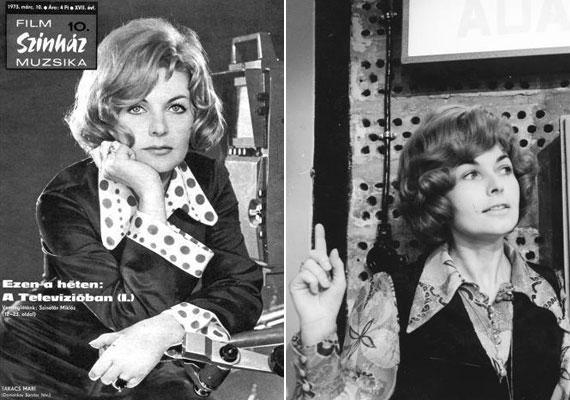 1973-ban a Film Színház Muzsika címlapján már a magyar televíziózás legendás bemondónőjeként volt látható, akinek frizuráját és öltözködését nők tucatjai követték.