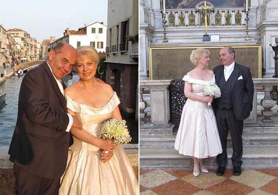 Miklósi Anna színésznő-énekesnő 53 évesen, 2015-ben állt az oltár elé Hubai László történésszel. A polgári esküvőt Budapesten, a templomit a vízre épült városban, Velencében, a Santa Maria della Salute-templomban tartották.