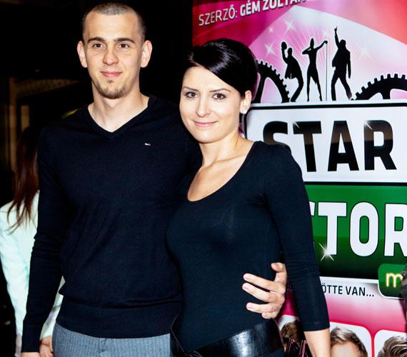 Cseh László világbajnok úszó barátnőjével, Diával érkezett, akivel 2007 óta egy párt alkotnak, és másfél éve együtt is élnek.