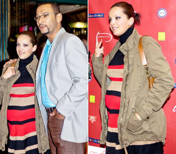 Kondákor Zsófia a Jóban Rosszban című sorozat révén ismerte meg párját, Kembe Sorelt, akivel január közepén árulták el, kisbabájuk lesz. Nyár közepére várják a kis Katját.