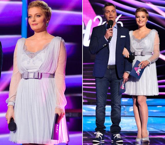 Volt, aki szerint a meseszép és romantikus ruha jól állt a műsorvezetőnek, de sokak szerint teltebbnek mutatta, mint amilyen valójában.