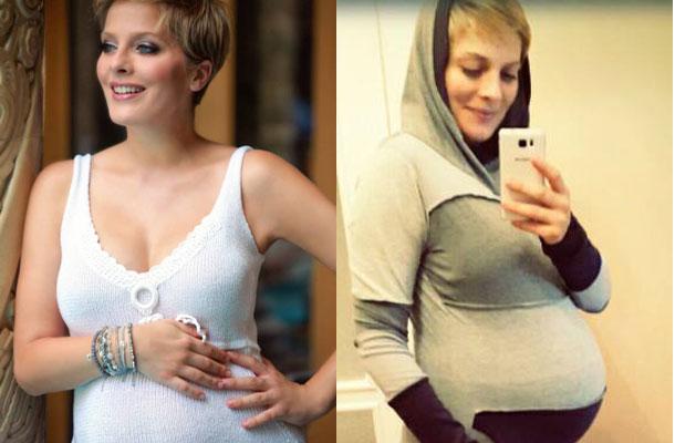 A műsorvezetővel madarat lehetett fogatni, amikor megtudta, hogy gyermeket vár új párjától. Még az sem zavarta őt, hogy a hetedig hónapra 12 kilót hízott. A kilencedik hónapra aztán 20 kilóval mutatott többet alatta a mérleg.