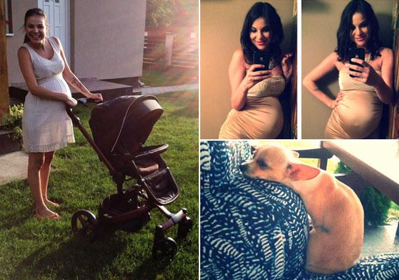 Nádai Anikó, az RTL egykori műsorvezetője, az Éjjel-Nappal Budapest egykori szereplője azt írta közösségi oldalán, hogy a kiírás szerint négy hete van már csak vissza a terhességéből. A 26 éves sztár eleinte úgy tudta, kislányt vár, de aztán kiderült, kisfiút hord a szíve alatt.