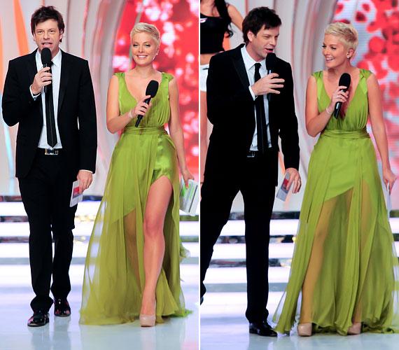 2012-ben Till Attila volt a műsorvezető társa a TV2 szépségeket felvonultató produkciójában.